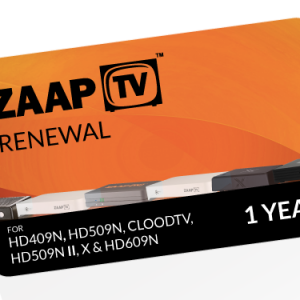 ZAAPTV 1 Year Renewal Voucher ARABIC