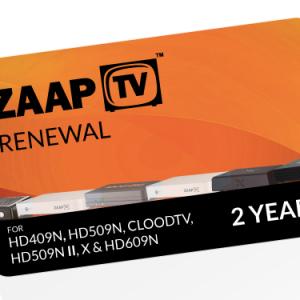 ZAAPTV 2 Year Renewal Voucher ARABIC