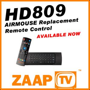 ZAAPTV HD809 Air Mouse Remote Control